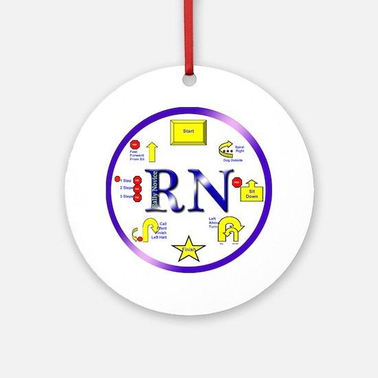 Rally Novice Ornament (Round)
