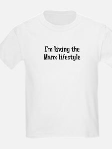 Living The Manx Lifestyle T-Shirt