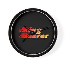 Ring Bearer - Blazed Wall Clock