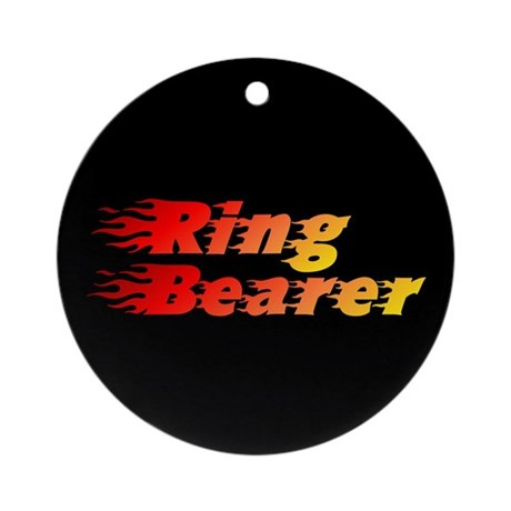 Ring Bearer - Blazed Ornament (Round)
