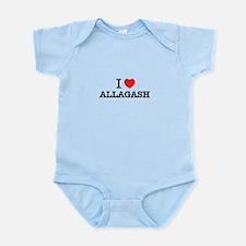 I Love ALLAGASH Body Suit