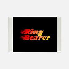 Usher - Blazed Rectangle Magnet