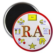 """Rally Advanced 2.25"""" Magnet (10 pack)"""
