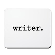 writer. Mousepad