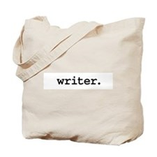 writer. Tote Bag