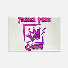 Trailer Park Queen Rectangle Magnet