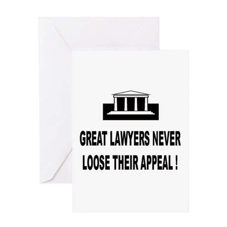 LAWYERS-APPEAL Greeting Cards