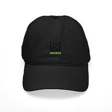 Live Love Ceramics Baseball Hat
