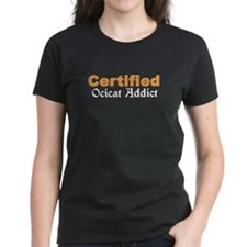 Certified Ocicat Addict Tee