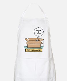 Cat Philosophy BBQ Apron