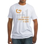 I'm Influential Fitted T-Shirt