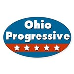 Ohio Progressive Bumper Sticker