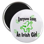 Everyone loves an Irish Girl Magnet