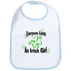 Everyone loves an Irish Girl Bib