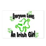 Everyone loves an Irish Girl Postcards (Package of