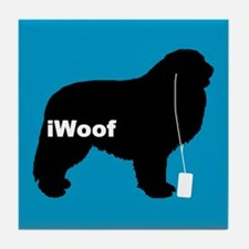 iWoof Great Pyr Tile Coaster
