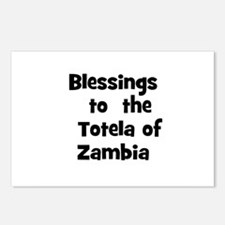 Blessings  to  the  Totela of Postcards (Package o