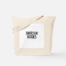 Emerson Rocks Tote Bag