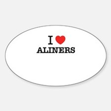 I Love ALINERS Decal