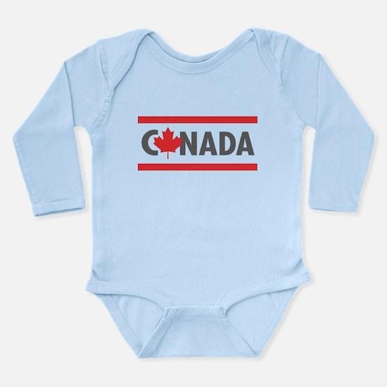 CANADA - Red Design Body Suit