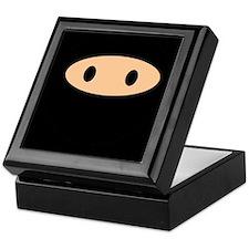 Cute Ninja Face Keepsake Box
