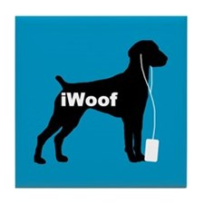 iWoof German Shorthair Tile Coaster
