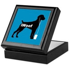 iWoof German Shorthair Keepsake Box