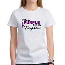 I Wear Purple For My Daughter 3 (PC) Tee