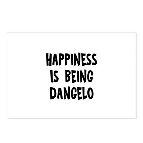 Happiness is being Dangelo Postcards (Package of 8