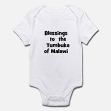 Blessings  to  the  Tumbuka o Infant Bodysuit
