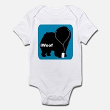 iWoof Chow Infant Bodysuit