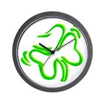 Shamrock Irish Gifts Wall Clock