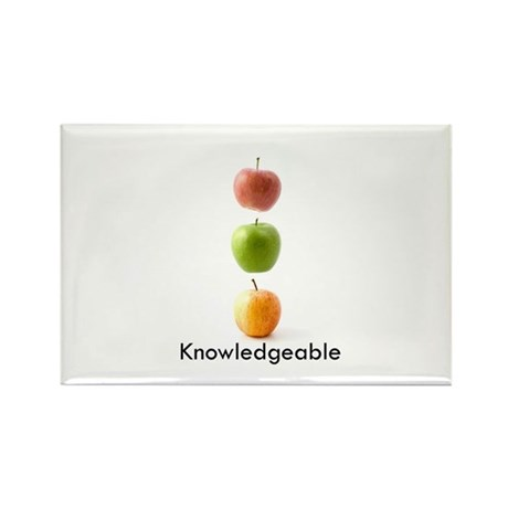 Knowledgeable Rectangle Magnet (10 pack)