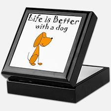 Unique Dogs Keepsake Box
