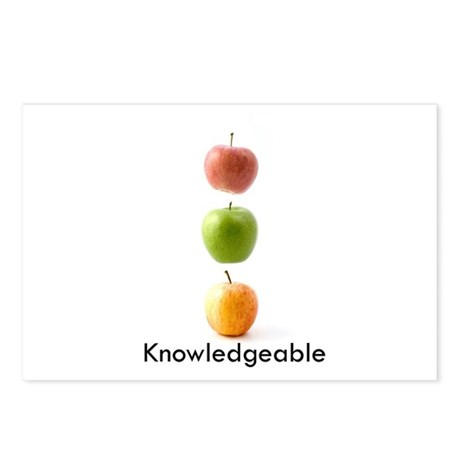 Knowledgeable Postcards (Package of 8)