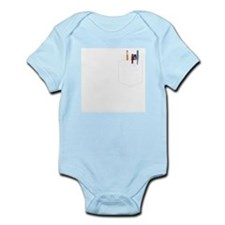 Pocket Protector Infant Bodysuit