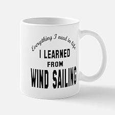 I learned from Wind Sailing Mug