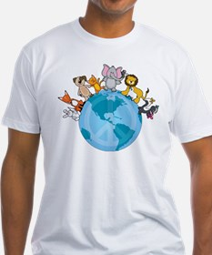 Peace on Earth Animals Shirt