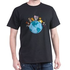 Peace on Earth Animals T-Shirt