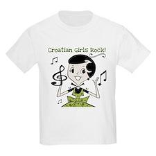 Croatian Girls Rock T-Shirt
