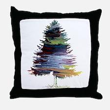 Fir Tree Throw Pillow