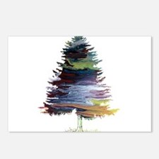 Fir Tree Postcards (Package of 8)