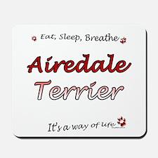 Airedale Breathe Mousepad