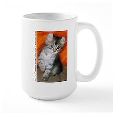 American Curl Kitten Large Coffee Mug