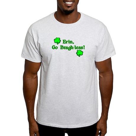Erin, Go Bragh-less Ash Grey T-Shirt