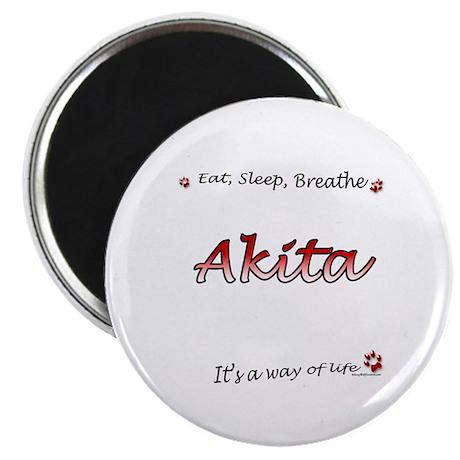 Akita Breathe Magnet