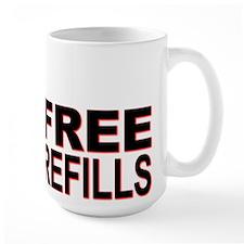 Free Refills Mug