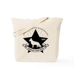 Obey the German Shepherd! Icon Tote Bag
