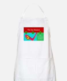 Fruitcake Hockey BBQ Apron