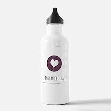 I Love Philadelphia Water Bottle